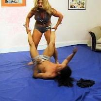Joan Wise Classic Female Wrestling Video 277