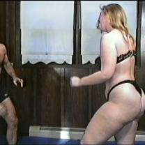 Joan Wise Classic Female Wrestling Video 334