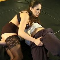 Joan Wise Classic Female Wrestling Video 432