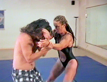 Joan Wise Classic Female Wrestling Video 532